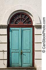 colonial, puerta