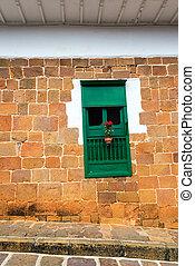 Colonial Sandstone Architecure