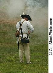 colonial, soldado