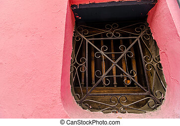 Colonial Wall and Window