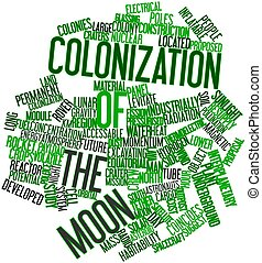 colonizzazione, luna
