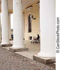Colonnade in Odessa