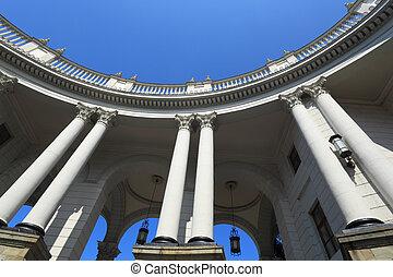 Colonnade of Sochi station