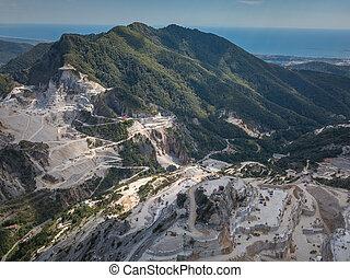 Massa-Carrara Tuscany Italy