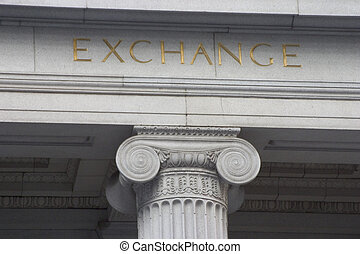 colonne, échange