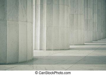 colonne, fila