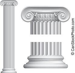 colonne, ionique