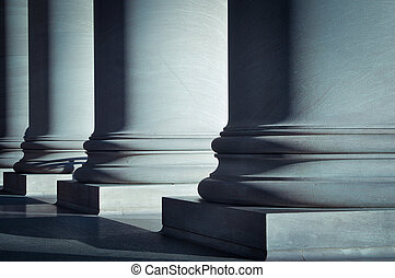 colonne, legge, educazione