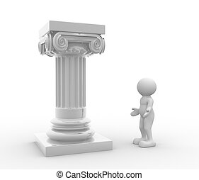 colonne, romain