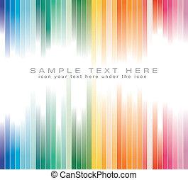coloré, business, fond, prospectus, brochure, rayé, ou