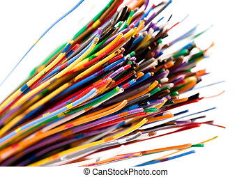 coloré, câble