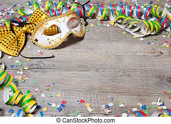 coloré, carnaval, fond