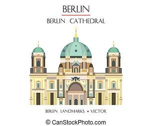 coloré, cathédrale berlin