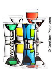 coloré, cocktails