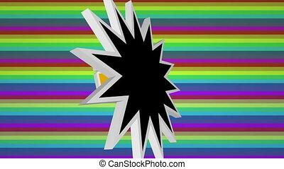 coloré, contre, comique, omg, art, texte, fond, pop