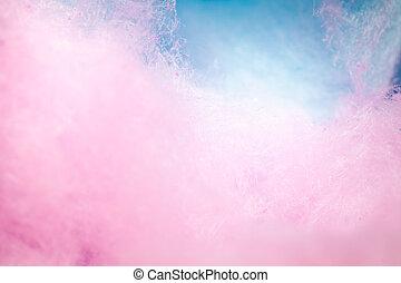 coloré, couleur, bonbon, fond, doux, coton