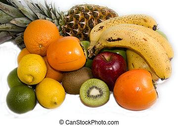 coloré, fruits