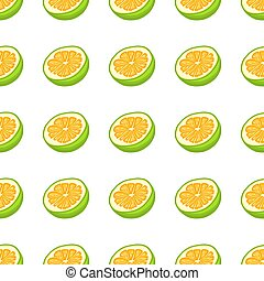 coloré, illustration, pomelo, thème, seamless, grand