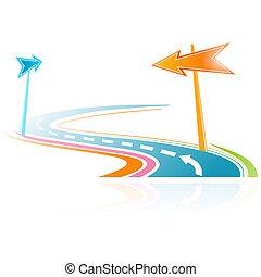 coloré, illustration, virtuel