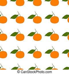 coloré, mandarine, clementine., motifs