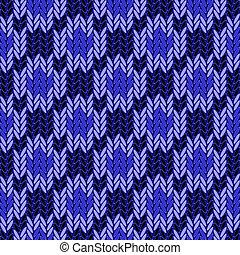 coloré, modèle, seamless, tricoté, conception, géométrique