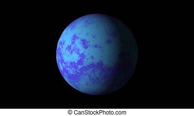 coloré, planète bleue, ou, alpha, mat, résumé, star.