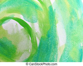 coloré, résumé, aquarelle, peint, fond