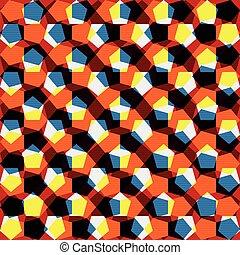 coloré, résumé, clair, conception, fond, géométrique, ton