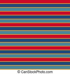 coloré, raies, texture, seamless, vecteur, ethnique, horizontal