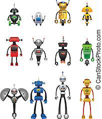 coloré, robots
