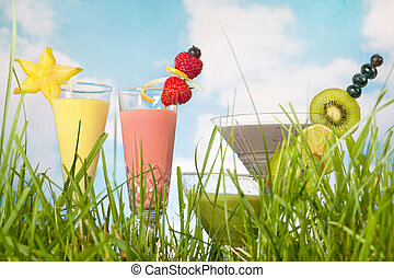 coloré, smoothies