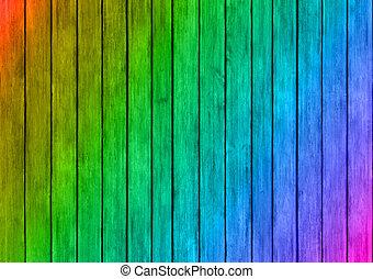 coloré, texture, bois, conception, fond, panneaux