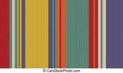 coloré, vidéo, raies, infini, résumé, zoom