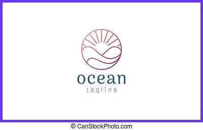 color., 金, 太陽, 円, バラ, 海洋