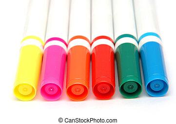 color, 1, marcadores