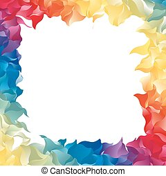 Color Abstract Frame