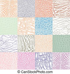 Color animal background