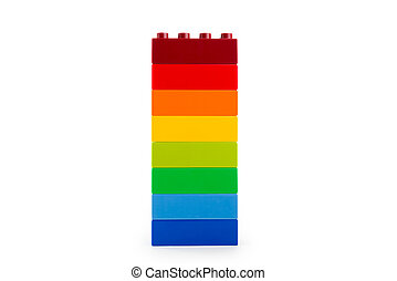 color, arco irirs, bloques, lego