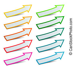 Color arrows