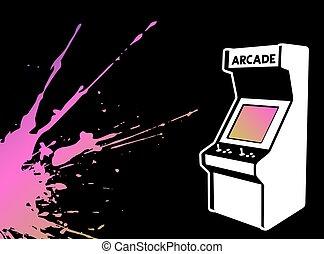 color art arcade game