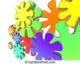 Color Attack 2 - Colorful Design/Illustration