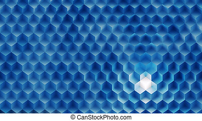 Background Made of Cubes - Color Background Made of Cubes in...