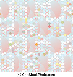 color background of circles and dots