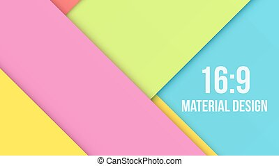 Color Background Unusual modern material design. Abstract Vector Illustration.