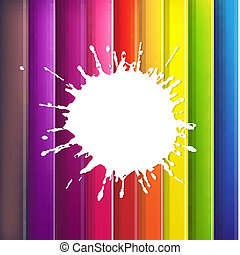 Color Background With Blob