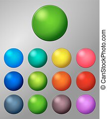Color badges