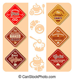 color bakery icons