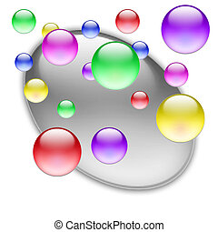 Color balls 10