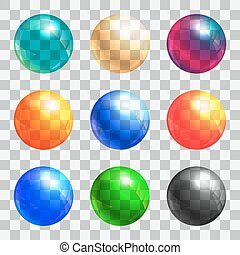 Color balls set