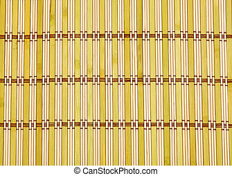 Color bamboo mat,  wood texture